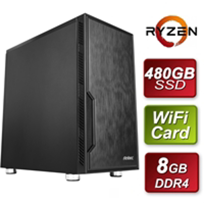 Picture of Antec AMD 3200G 3.6GHZ Quad Core 8GB RAM 480GB SSD with Wireless Card - Pre-Built System