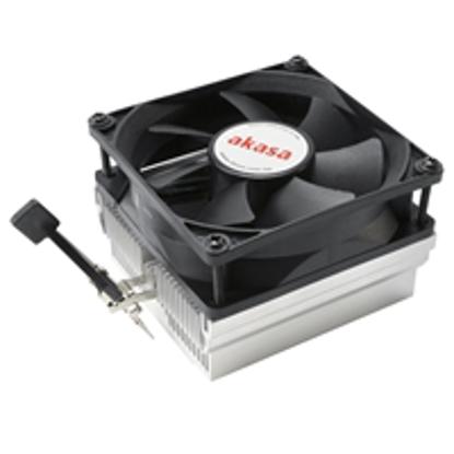 Picture of Akasa AK-CC1107EP01 AMD Socket 80mm 3000RPM Black Fan CPU Cooler