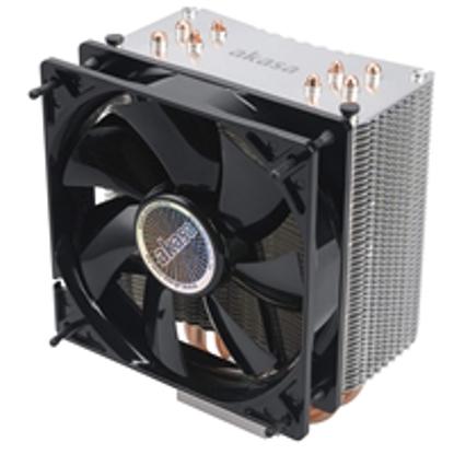 Picture of Akasa Nero 3 Universal Socket 120mm PWM 1500RPM Black Fan CPU Cooler