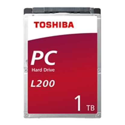 Picture of Toshiba L200 HDWL110UZSVA 1TB SATA IIl 5400RPM 2.5 Inch 7mm Internal Hard Drive