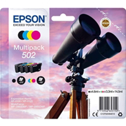 Picture of Epson 502 Binocular Multipack inks