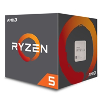 Picture of AMD Ryzen 5 2600X 3.6GHz Six Core AM4 Socket Overclockable Processor with Wraith Spire Cooler