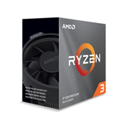 Picture of AMD Ryzen 3 3300X with Wraith Stealth Cooler 3.8Ghz Quad Core AM4 Overclockable Processor