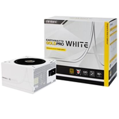 Picture of Antec EarthWatts Gold Pro White 750W 120mm Silent Fan 80 PLUS Gold Semi Modular PSU