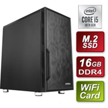 Picture of Antec Intel 10th Gen i5-10400 Six Core 2.9GHz 16GB DDR4 RAM 512GB M.2 SSD Wireless Prebuilt System