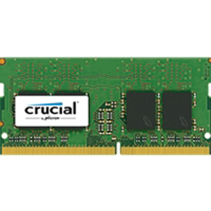 Picture of Crucial 8GB No Heatsink (1 x 8GB) DDR4 2400MHz SODIMM System Memory