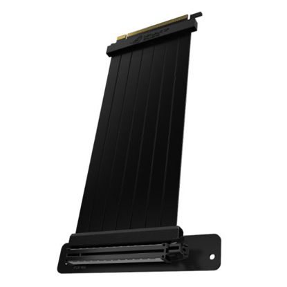 Picture of Asus RS200 ROG STRIX 240mm PCIe x16 Riser Cable with 90 Degree Adapter, SafeSlot Design, EMI Shielding