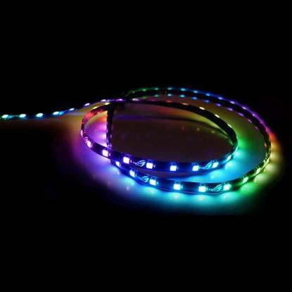 Picture of Asus ROG Addressable RGB LED Light Strip, 30cm, 5V, Magnetic Backing, Aura Sync