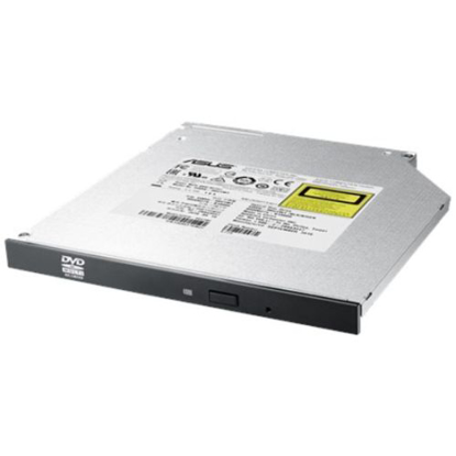 Picture of Asus  (SDRW-08U1MT) Ultra Slim DVD Re-Writer, SATA, 24x, 9.5mm High, M-DISC, OEM