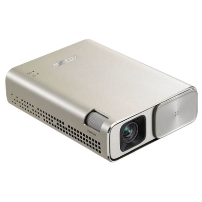 Picture of Asus ZenBeam Go E1Z USB Pocket Projector, 854 x 480, 16:9, Micro USB / Type-C, 150 Lumens, 6400mAh Battery