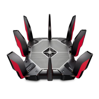Picture of TP-LINK (Archer AX11000) AX11000 (1148+4804+4804) Wireless Tri-Band Gaming Router, 8-Port, 2.5Gbps WAN, MU-MIMO, USB 3.0 A&C