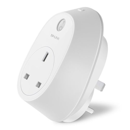 Picture of TP-LINK (HS110 V2.0) Wi-Fi Smart Plug with Energy Monitoring, Remote Access, Scheduling, Away Mode, Amazon Echo