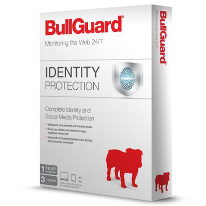 Picture of Bullguard Identity Protection Retail - Single 3 User Licence - 1 Year - PC, Mac & Android