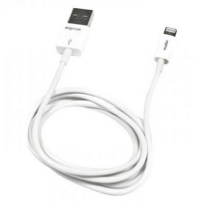Picture of Approx (APPC32) 2-in-1 Lightning Cable, USB to Lightning/Micro USB, 1 Metre, White, Not Apple Certified