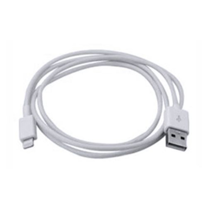 Picture of Spire Lightning Cable, Data/Charge, USB 2.0, White, Not Apple Certified