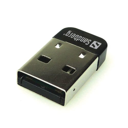 Picture of Sandberg (133-81) USB Nano Bluetooth 4.0 Adapter, 25M Range, 5 Year Warranty
