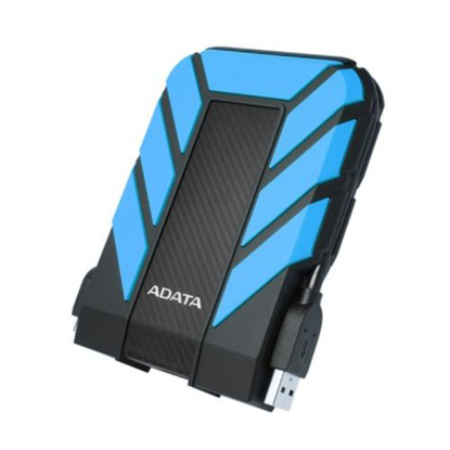 "Picture of ADATA 1TB HD710 Pro Rugged External Hard Drive, 2.5"", USB 3.1, IP68 Water/Dust Proof, Shock Proof, Blue"