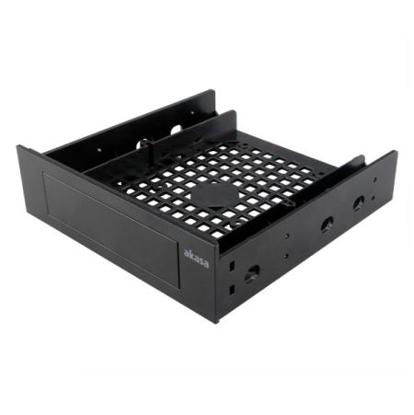 """Picture of Akasa Front Bay 3.5"""" Device Adapter, Frame to Fit 3.5"""" device/SSD/HDD into a 5.25"""" Bay"""