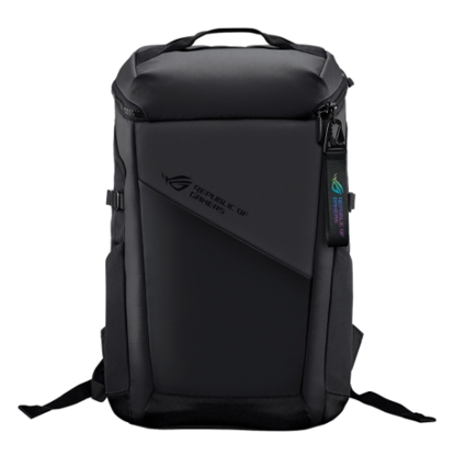 """Picture of Asus ROG 17"""" Ranger BP2701 Lightweight Gaming Backpack, Water Repellent, Luggage Strap, 22 Litre"""