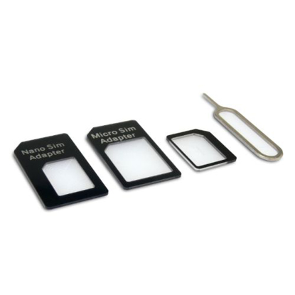 Picture of Sandberg SIM Card Adapter Kit, 4-in-1, 5 Year Warranty