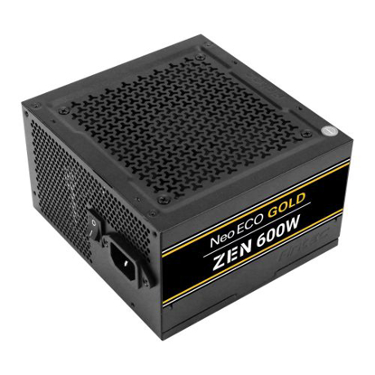 Picture of Antec 600W NeoECO Gold ZEN PSU, Fully Wired, LLC Design, 80+ Gold, Cont. Power