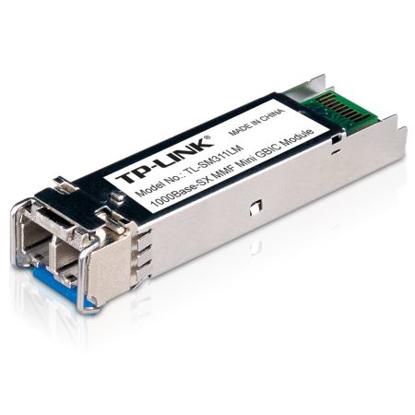 Picture of TP-LINK (TL-SM311LM) MiniGBIC Multi-Mode SFP Fiber Module, 550m, 850nm Wave