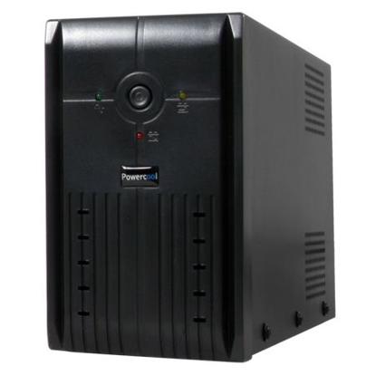 Picture of Powercool 1000VA Smart UPS, 600W, LED Display, 3 x UK Plug, 2 x RJ45, 3 x IEC, USB