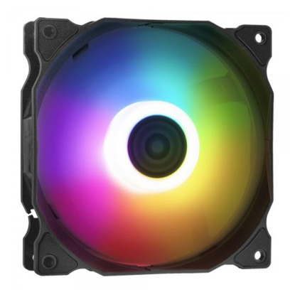 Picture of ADATA XPG VENTO 12cm ARGB Case Fan, 9 LEDs, Rifle Bearing