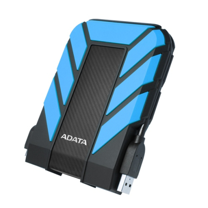 """Picture of ADATA 1TB HD710 Pro Rugged External Hard Drive, 2.5"""", USB 3.1, IP68 Water/Dust Proof, Shock Proof, Blue"""