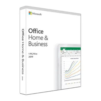 Picture of Microsoft Office 2019 Home & Business, Retail, 1 Licence, Medialess