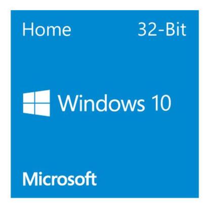 Picture of Microsoft Windows 10 Home 32-bit, OEM DVD, Single Copy