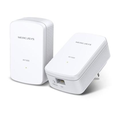 Picture of Mercusys (MP500 KIT) AV1000 GB Powerline Adapter Kit, AV2, 1-Port