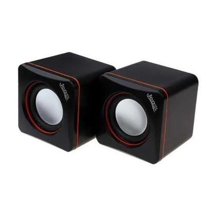 Picture of Jedel 2.0 Mini Stereo Speakers, 3W x2, Black