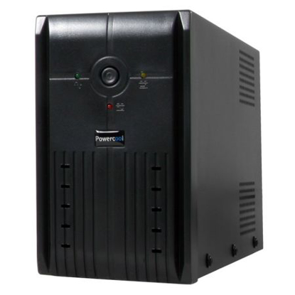 Picture of Powercool 1200VA Smart UPS, 720W, LED Display, 3 x UK Plug, 2 x RJ45, 3 x IEC, USB