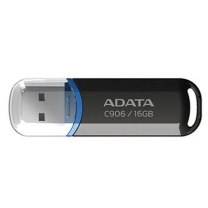 Picture of ADATA 16GB USB 2.0 Memory Pen, Compact, Black & Blue